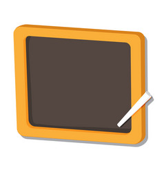 isolated of black board - vector image vector image