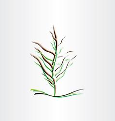 stylised tree design vector image