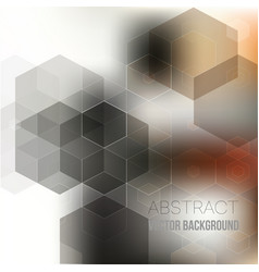 abstract geometric gray brown background vector image