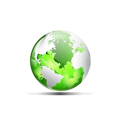 earth green vector image vector image