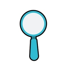 Lupe magnifying glass search icon graphic vector