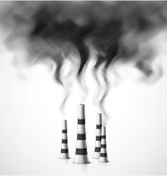 Pollution environment vector