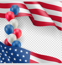 Usa country patriotic background vector