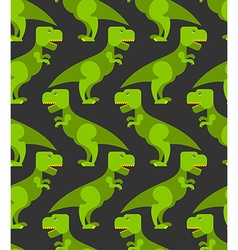 Tyrannosaurus t-rex seamless pattern Background of vector image vector image