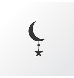 star icon symbol premium quality isolated vector image