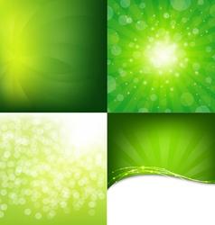 Modern Light Background vector image vector image