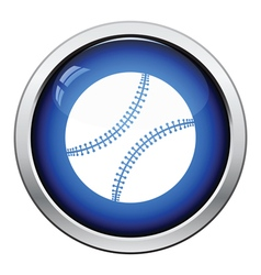 Baseball ball icon vector image