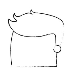 Blurred silhouette image faceless side profile man vector
