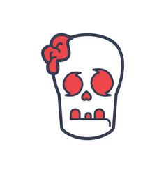 Brain halloween logo icon design vector