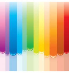paint rainbow vector image