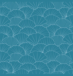 Seamless marine patterns vector