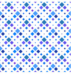 seamless square pattern background - royal blue vector image