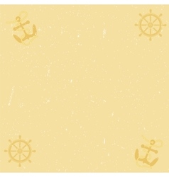 Yellow paper background with scratches vector