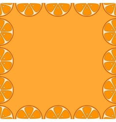 background oranges vector image vector image