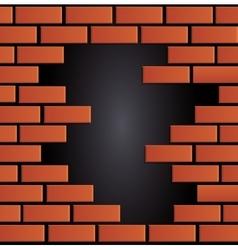 Brick wall design vector