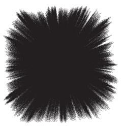 Plasma space burst background EPS 10 vector image