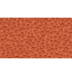 Red sponge background vector