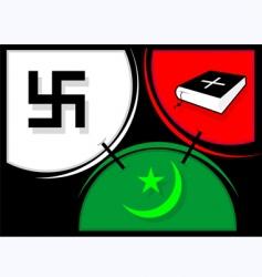 religious symbol vector image