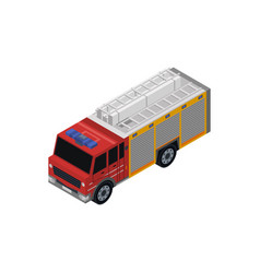 road service car isometric 3d element vector image