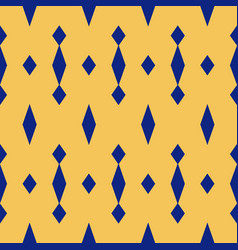 Simple geometric seamless pattern with rhombuses vector