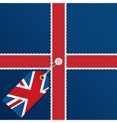 uk background vector image vector image