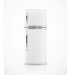 Isolated fridge vector image