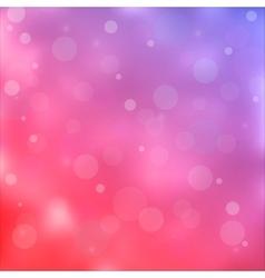 Pink bokeh light background vector image vector image
