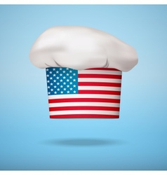 American national cuisine vector image vector image