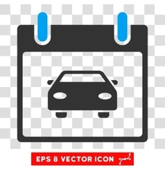 Car Calendar Day Eps Icon vector