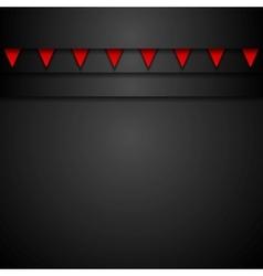 Dark abstract corporate background vector