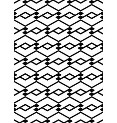 Monochrome seamless pattern with parallel lines vector