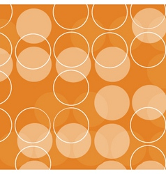 Retro circles vector