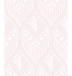seamless lace pattern made of abstarct ethnic vector image
