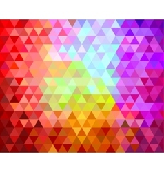 triangles geometric background vector image