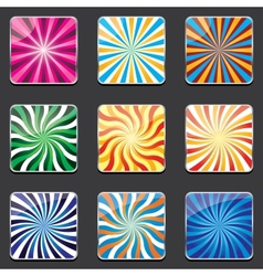 abstract backgrounds for apps vector image