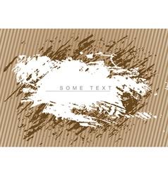 brown grunge background vector image