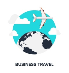 Business Travel vector image vector image