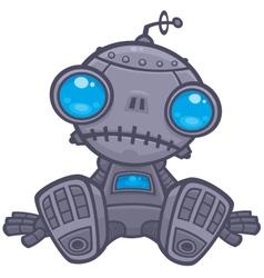 Sad Robot vector image