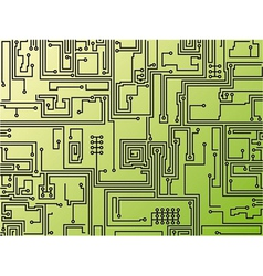 Abstract circuit board background vector