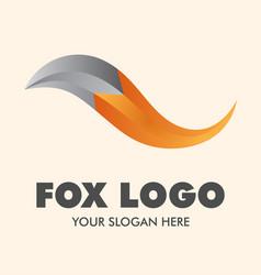Fox logo design inspiration vector