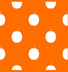 Fresh apricot pattern seamless vector