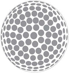 golfball vector image