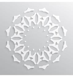 Paper circle vector image