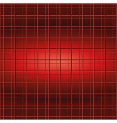 Red Abstract Squares Background vector image