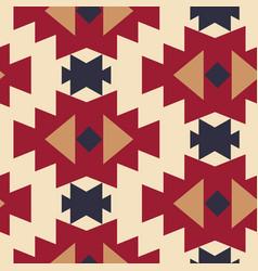 tribal southwestern native navajo seamless pattern vector image