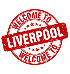 Welcome to liverpool vector