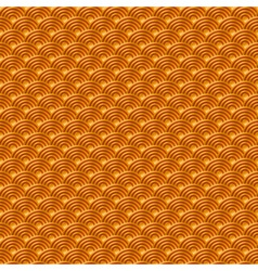 Chinese orange yellow gold seamless pattern dragon vector