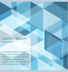 abstract background blue vector image vector image