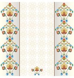 Decorative Background four vector image