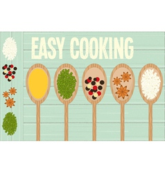 Easy cooking vector